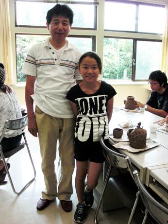 7月13日、廃校プロジェクトの第一弾「人形作り講座」