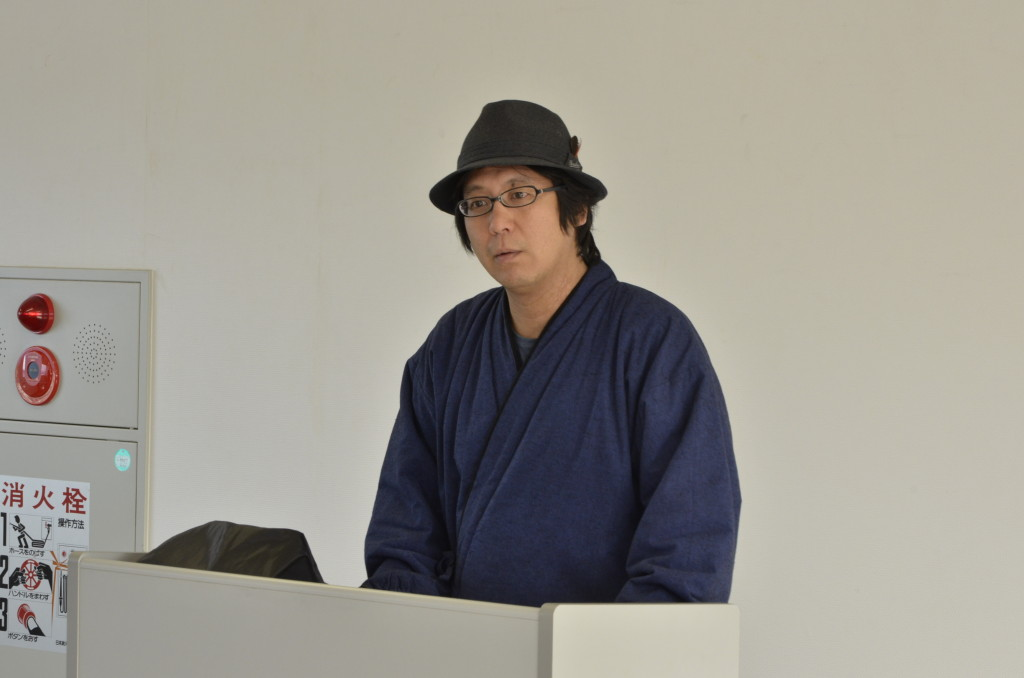講師の陸奥賢さん。今年青森に3回来ていただきました。